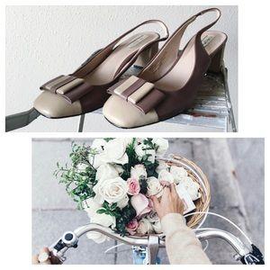 Halogen Genuine Leather Heels